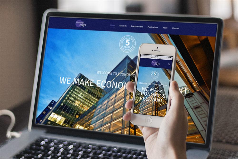 Economic Insight Website Design