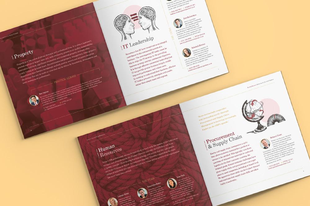 Berwick group brochure design