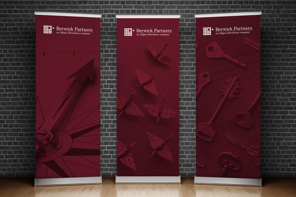 Berwick Pull Up Banner Design
