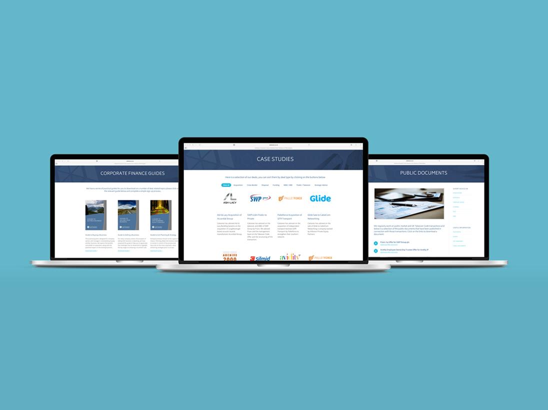 Cattaneo Website Design