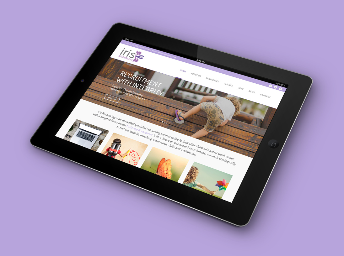 Iris Resourcing Responsive Website Design