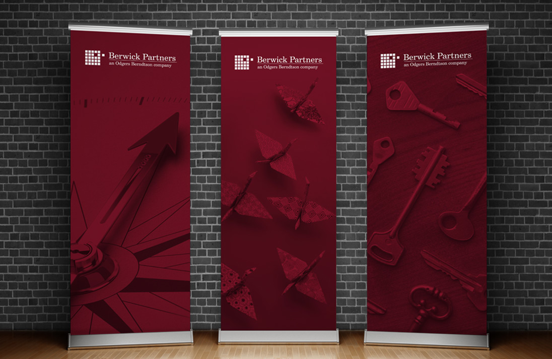 Berwick Pull up banner designs