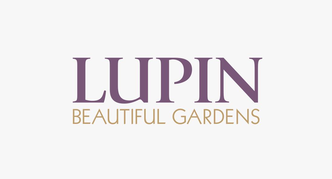 Lupin Gardens Logo Design