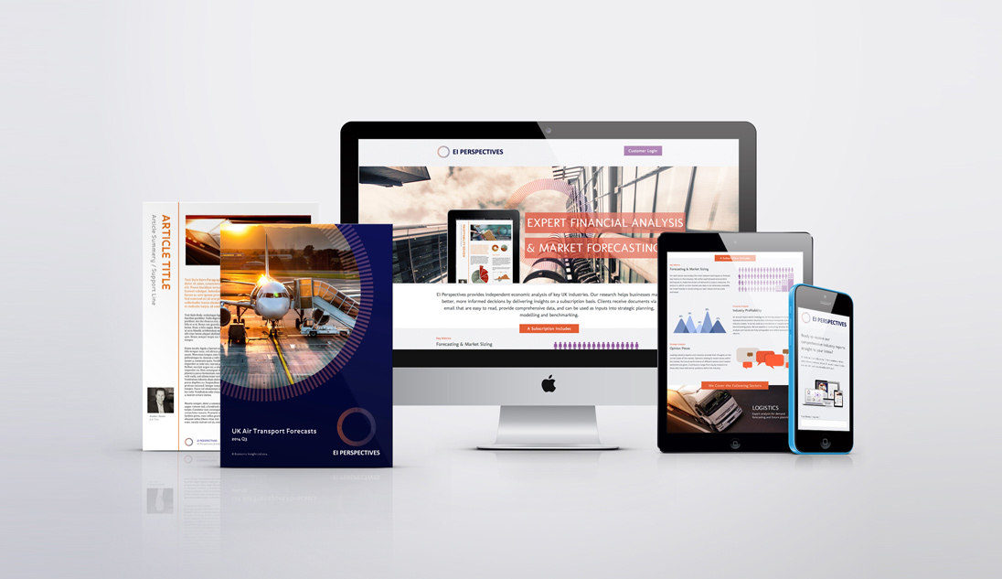 EI Perspectives Marketing Design