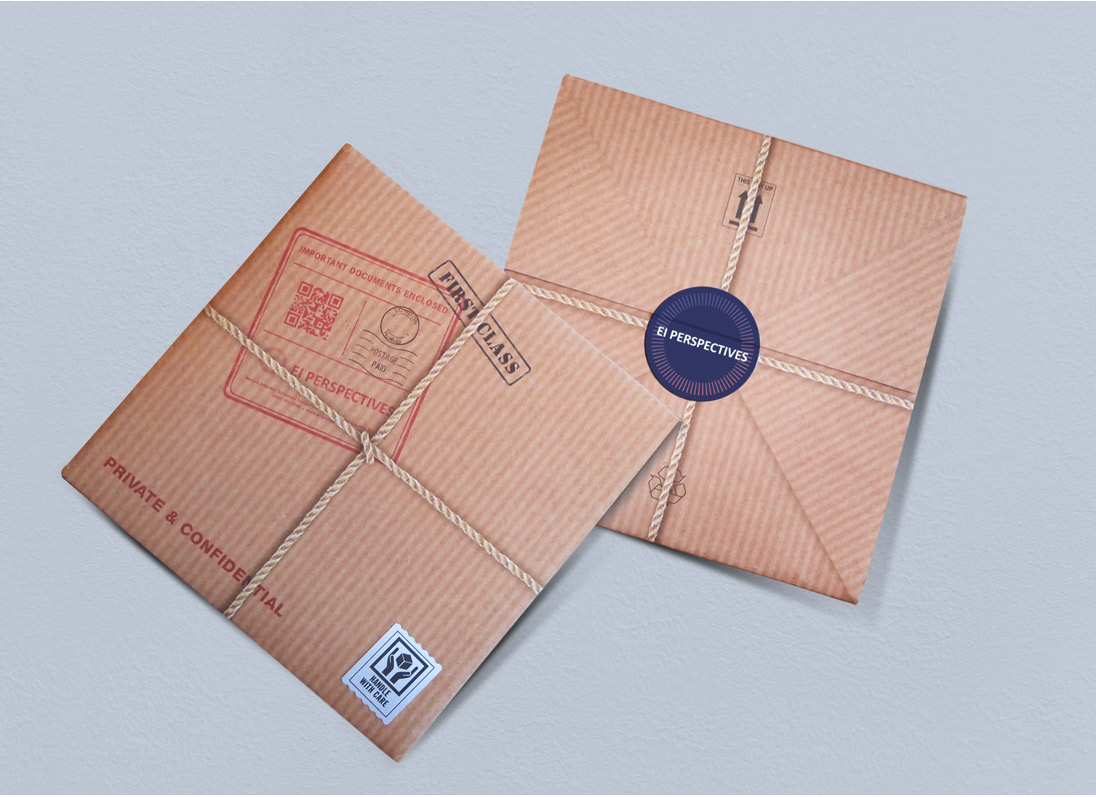 EI Perspectives Mailer Design