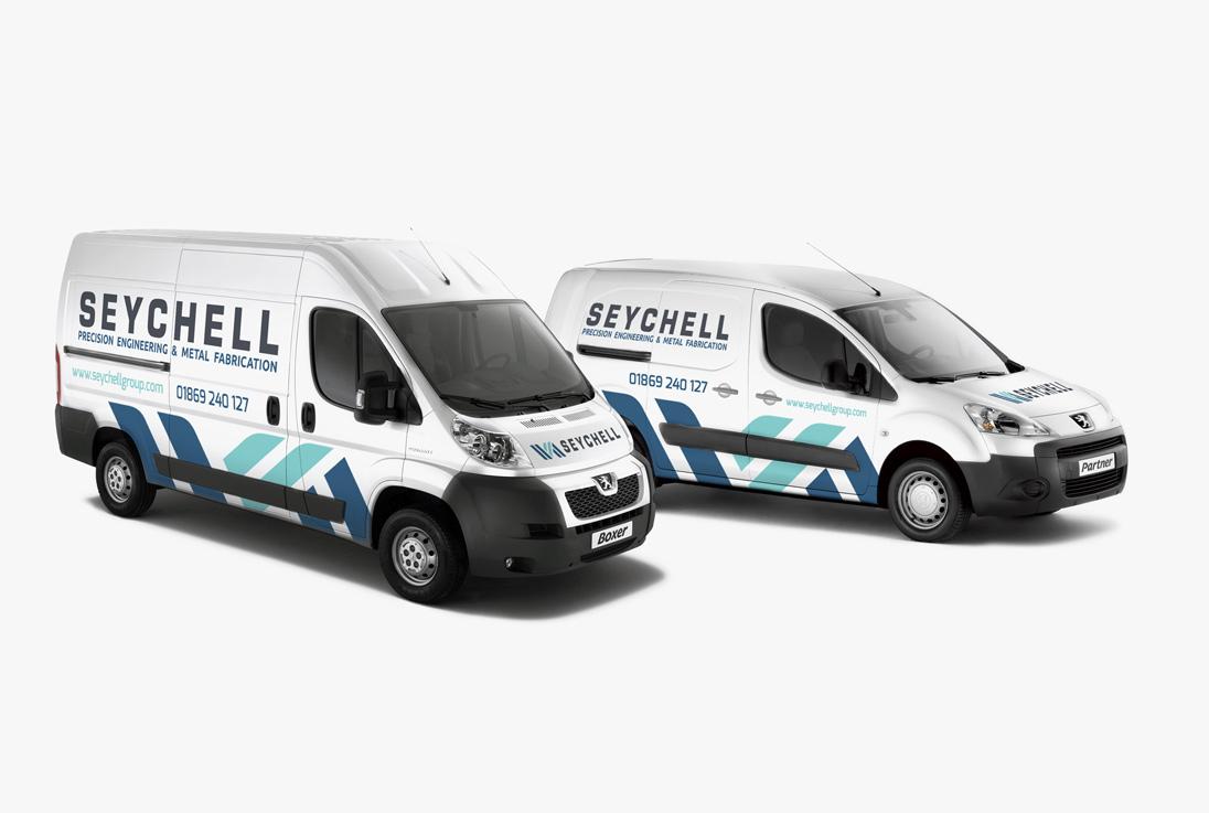 Seychell Engineering Vehicle Livery Design