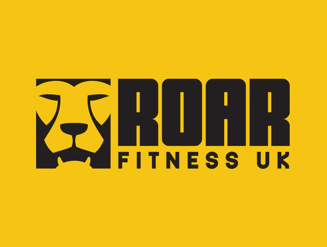 Roar Fitness Logo Design