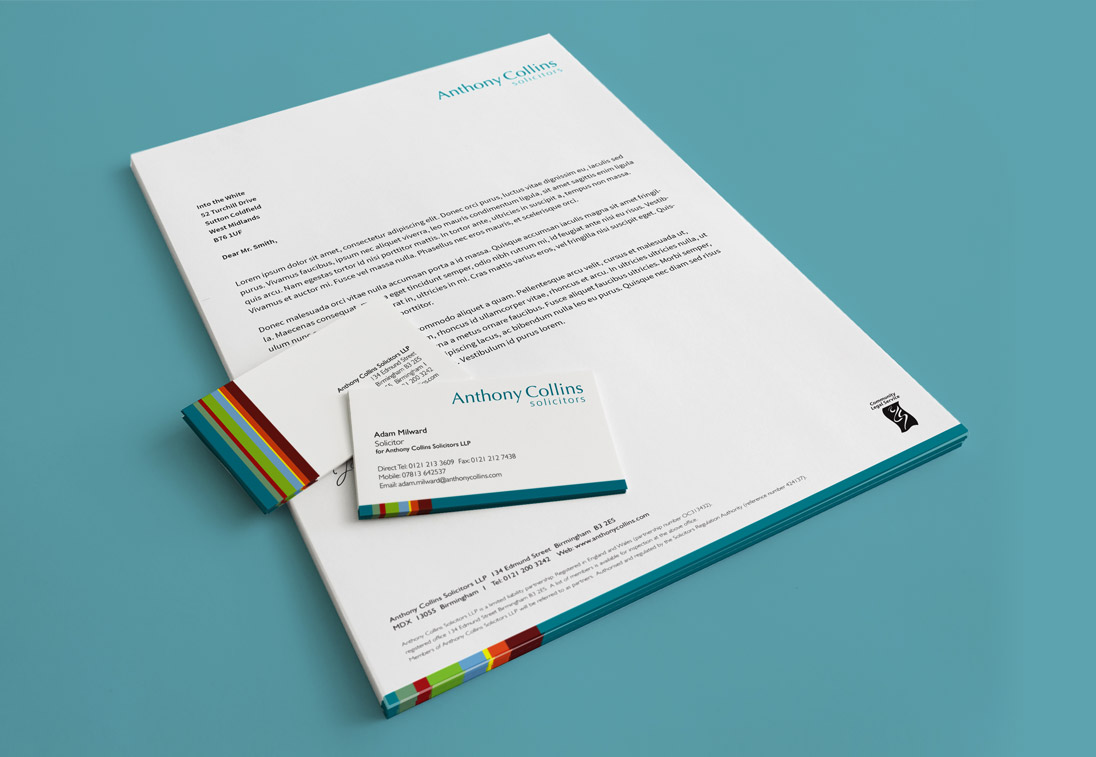 ACS Business Stationery Design