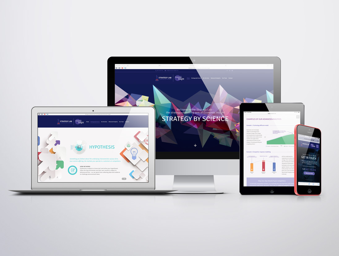 Strategy Lab Branding & Website