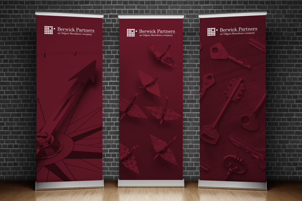 Berwick Pull Up Banner Design