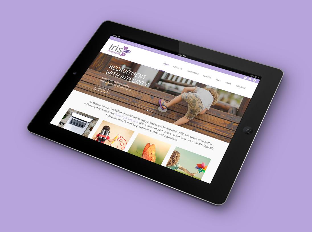 Iris Resourcing Responsive Website Design