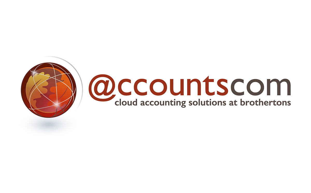 accountscom digital accounting logo design