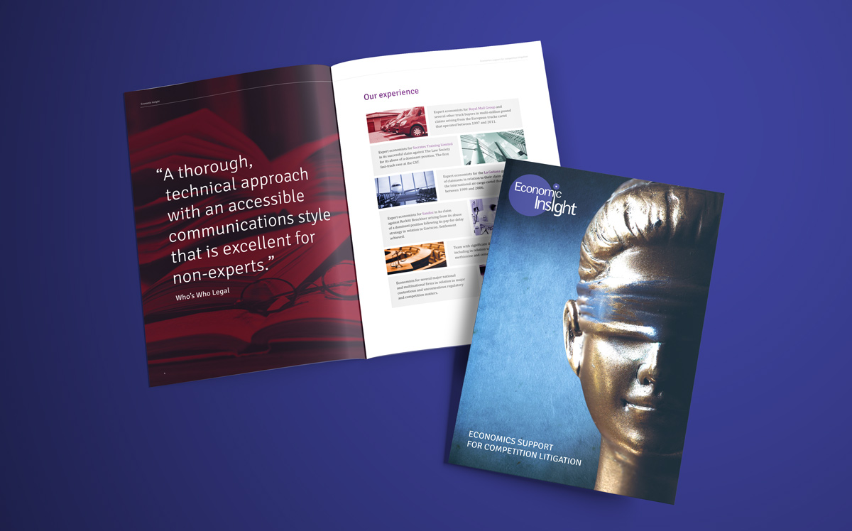 Competition Law Brochure Design